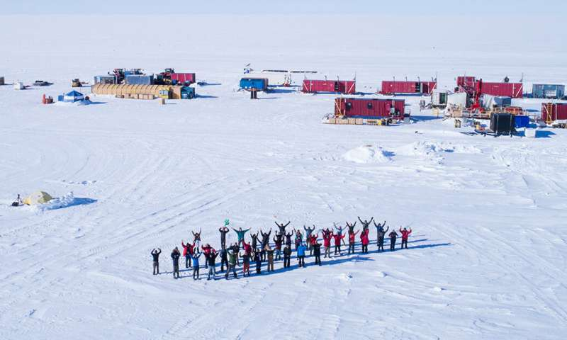 Expedition to Antarctica finds signs of life—researchers investigating if it still exists