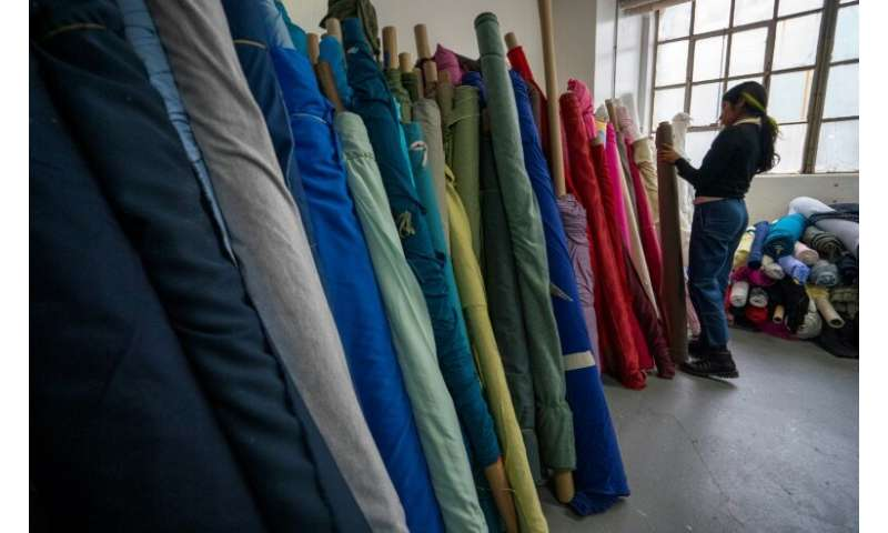 Fabscrap is working to make the fashion industry more sustaintable—recycling and reusing fabric scraps is part of that
