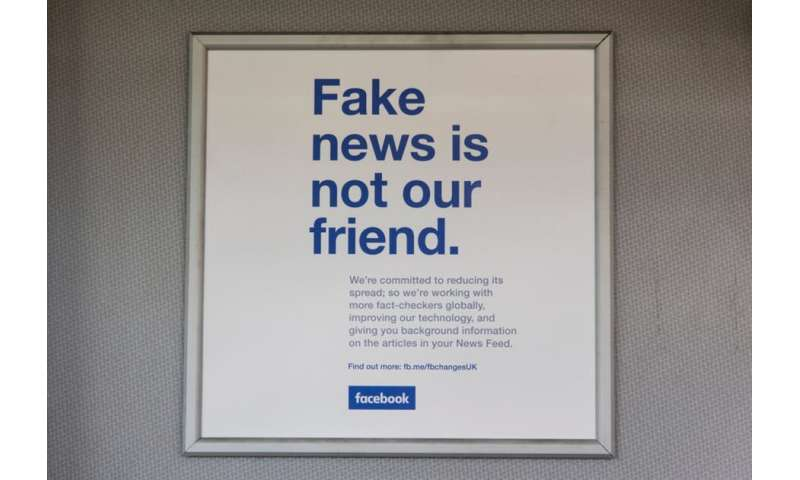 Facebook has shut down accounts spreading fake news, but is it accountable?