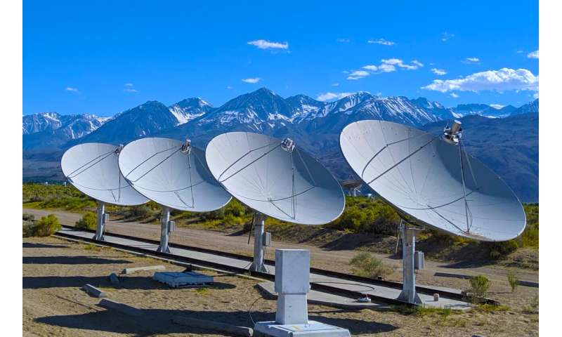 Fast radio burst pinpointed to distant galaxy