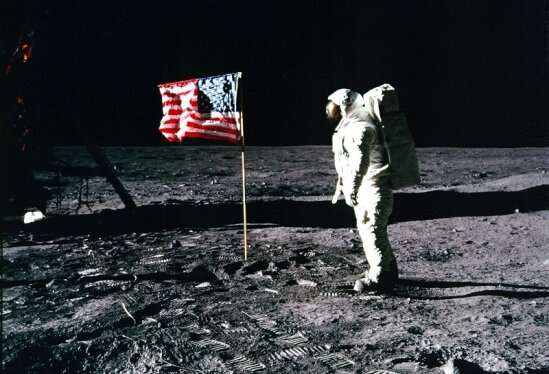 Fifty years after the Apollo 11 moon walk, a vexillologist looks at the challenge of planting the flag on the moon