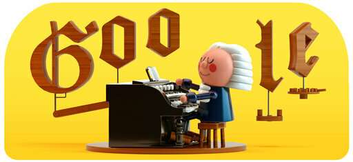 First artificial intelligence Google Doodle features Bach