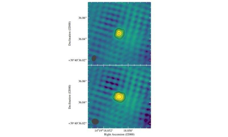 "FIRST J141918.9+394036 is an ""orphan"" long gamma-ray burst, study finds"