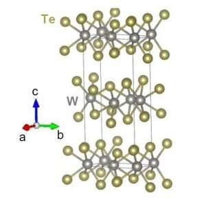 First observation of native ferroelectric metal