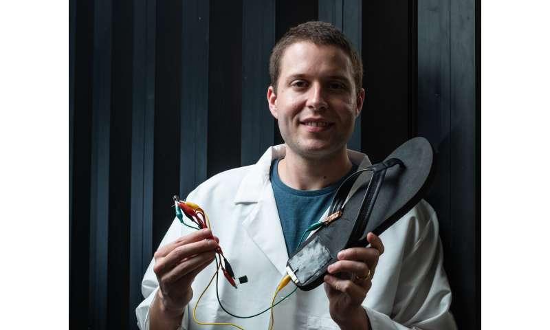 Flexible generators turn movement into energy