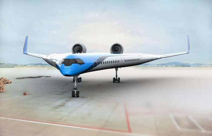 Flying-V plane concept marks spectacular new look in air travel