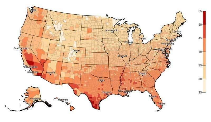 **Focusing the Heat: Extreme Weather Risk Perception in the United States