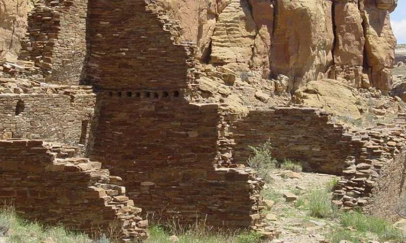 Food may have been scarce in Chaco Canyon
