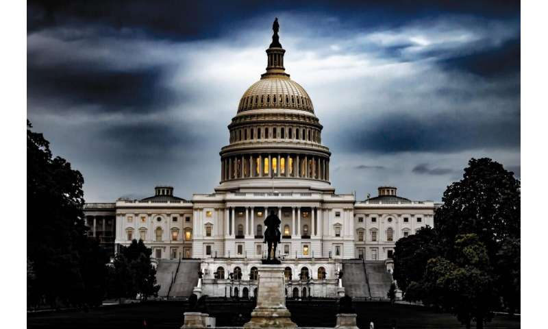 Forces behind growing political polarization in congress revealed in new model