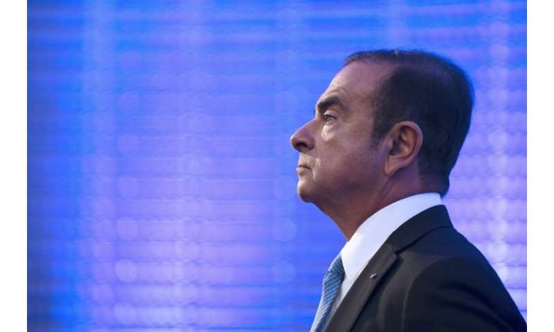 Former Renault-Nissan chairman and CEO Carlos Ghosn is being held in Japan on charges he under-reported millions of dollars in p