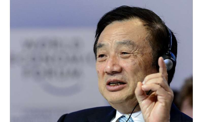 Founder Ren Zhengfei shrugged off supply fears, telling Chinese media that Huawei has a hoard of chips and can manufacture its o