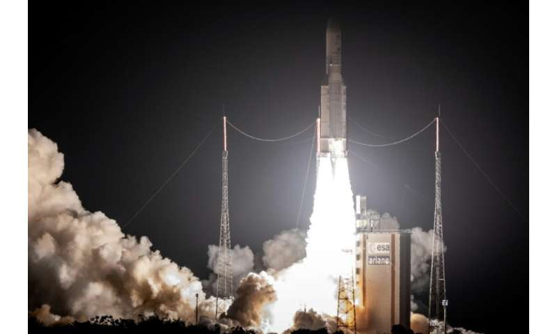 Four more Ariane 5 launches are scheduled for this year after 10 from Kourou in French Guiana in 2018