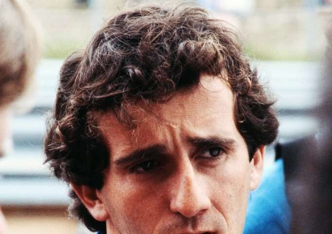 """French Formula One star Alain Prost, 14 at the time, says the landing was a moment which """"always stays with you"""""""
