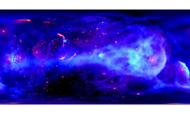 Galactic center visualization delivers star power