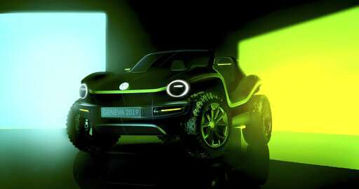 Geneva show has electrics, sports cars and a VW dune buggy