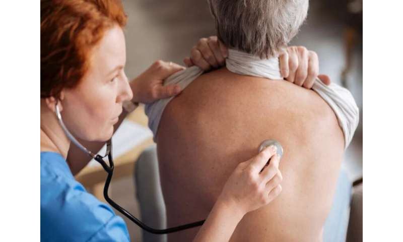 Geographic patterns of COPD similar for smokers, nonsmokers