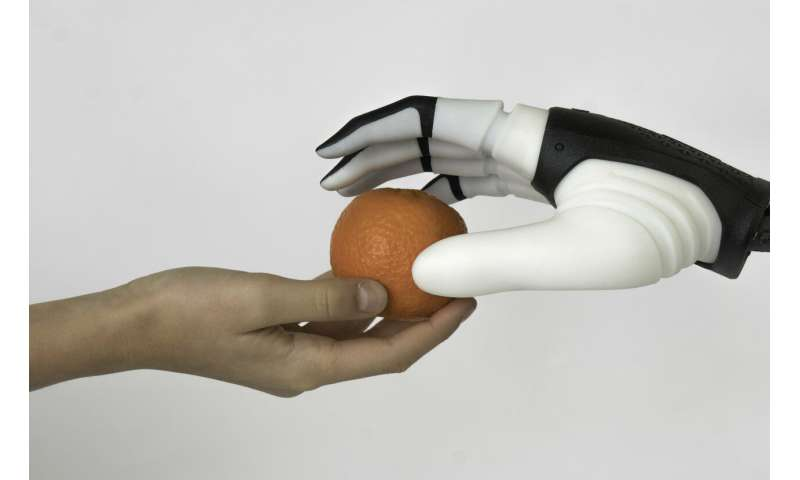 Getting a grip on human-robot cooperation