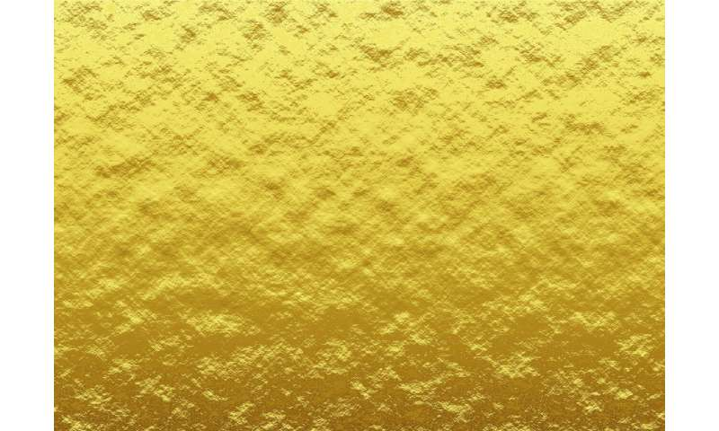 Scientists explore the unknown behaviour of gold nanoparticles with neutrons