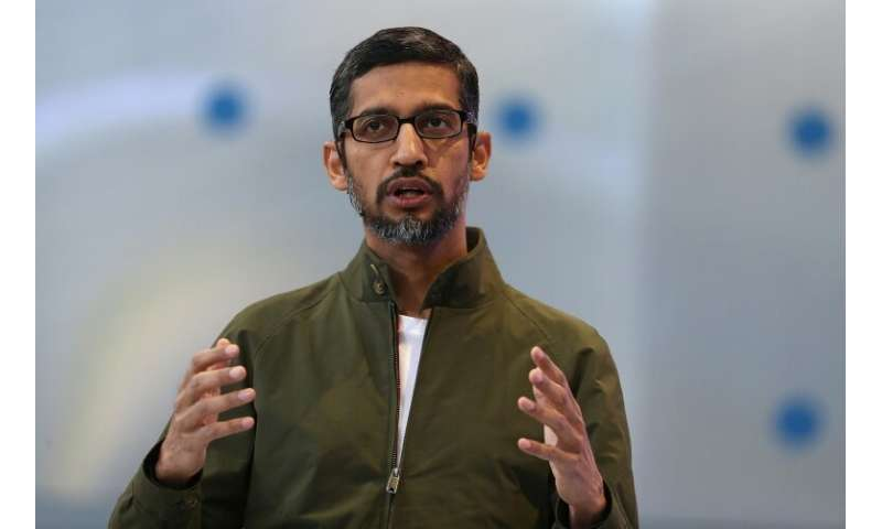 Google, whose CEO Sundar Pichai is seen here, remains a dominant force in the online world despite new new moves to regulate how