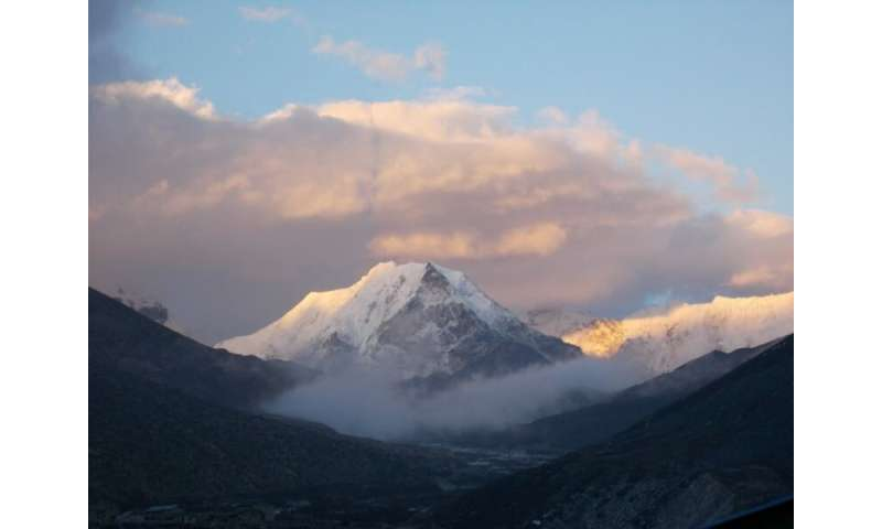 Himalayan winds play role in cloud and moisture transport, water redistribution