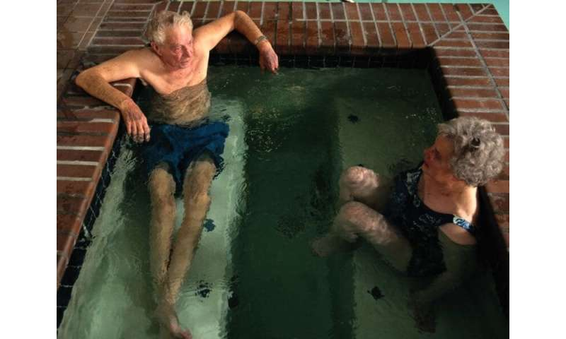 Hot water therapy aids patients with peripheral arterial disease