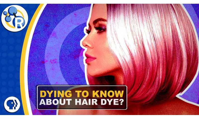 How hair dye works (video)
