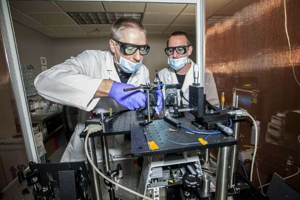 "How ""optical tweezers"" could address one of crime labs' biggest challenges"
