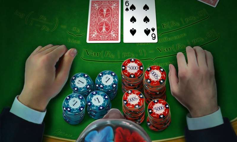 How the brain decides whether to hold 'em or fold 'em