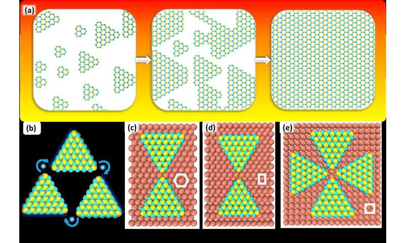 How to enlarge 2-D materials as single crystals