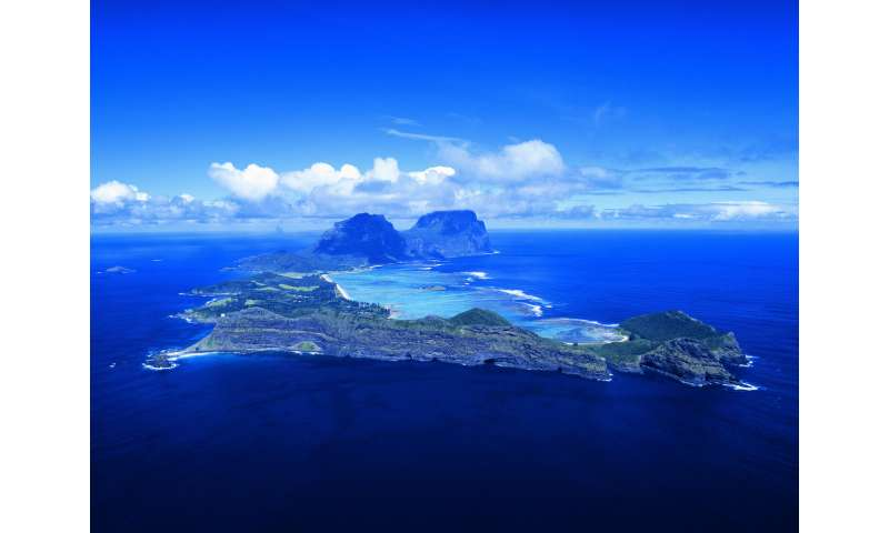How we traced the underwater volcanic ancestry of Lord Howe Island