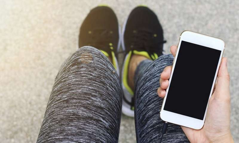 How your smartphone can encourage active living