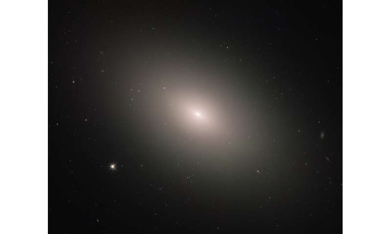 Hubble sees a galaxy bucking the trend