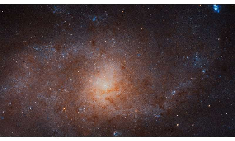 Hubble takes gigantic image of the Triangulum Galaxy