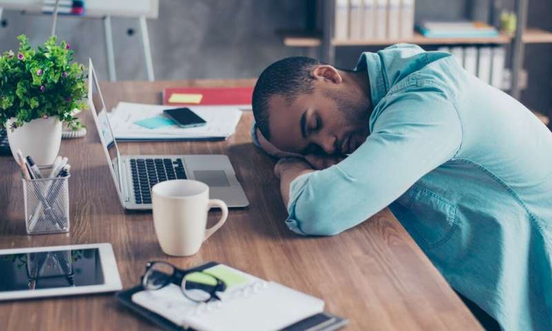 If you're not sleeping at work, you should be fired