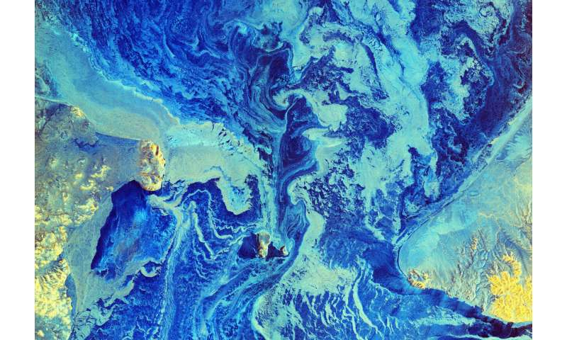 Image: Bering in dire straits