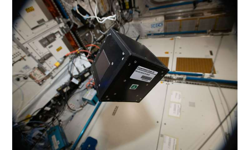 Image: Modular experiment platform on the ISS