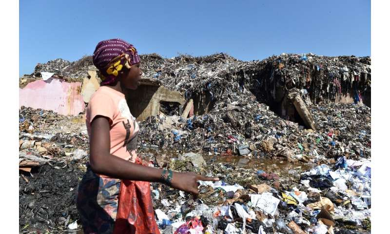 In Africa, 4.4 million tonnes of plastic are found in oceans and seas every year, according to United Nations figures from 2010