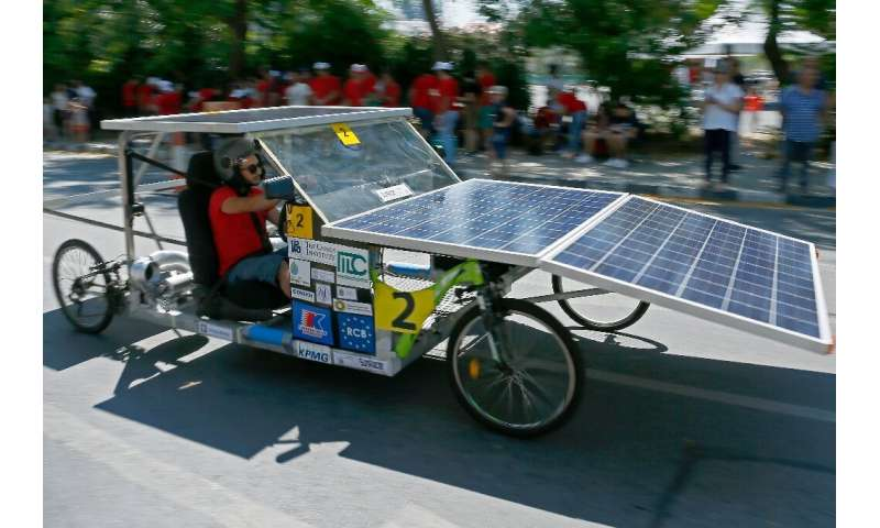 In Cyprus, which experiences some 320 sunny days per year, the potential for solar-powered cars is enormous