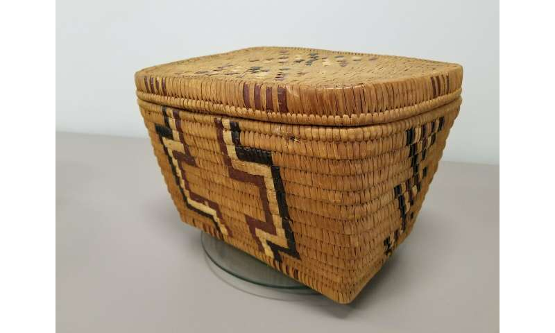 Indigenous basket-weaving makes an excellent digital math lesson