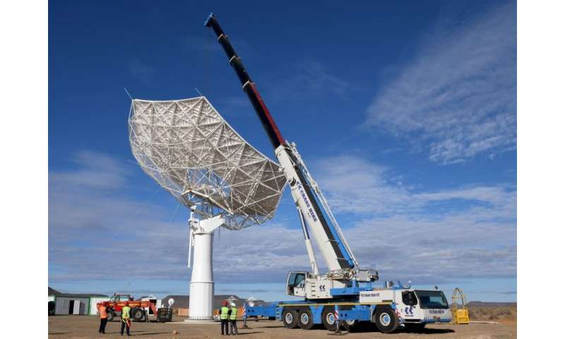 Individual telescope of the Square Kilometre Array can also be used to study cosmic background radiation