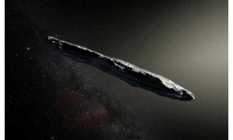 Interstellar objects such as & # 39; Oumuamua probably crashes against the sun every 30 years