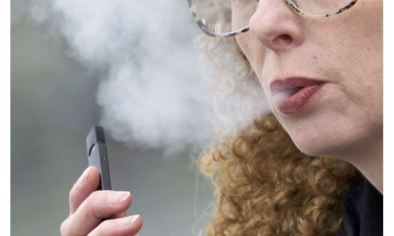 In vaping response, schools mull treatment with discipline