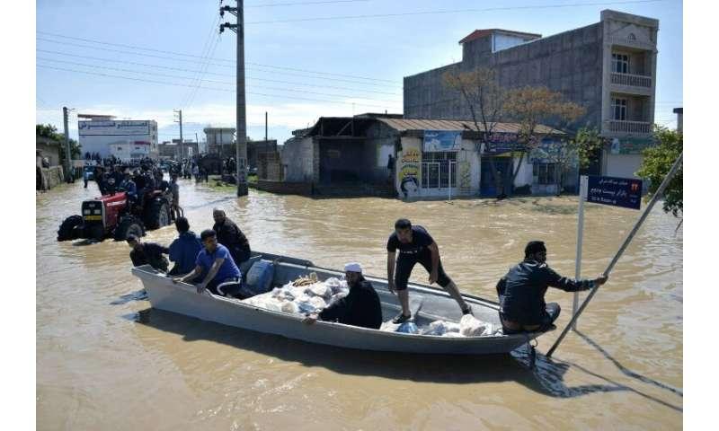 Iran's meteorological service has warned of more heavy rain