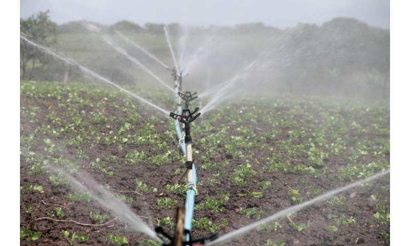 A warming Midwest increases likelihood that farmers will need to irrigate