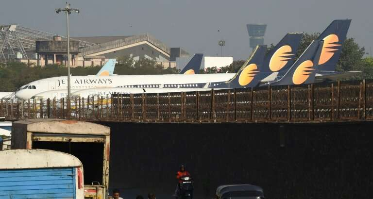 Jet Airways cancelled most of its international flights as lenders desperately seek a buyer to keep the beleaguered airline runn