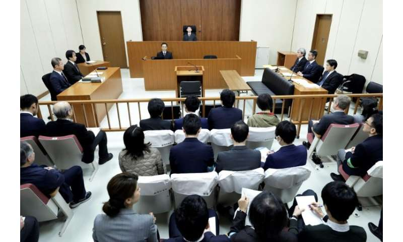 Judge Yuichi Tada told the court the detention of ex-Nissan chief Carlos Ghosn is justified because he poses a flight risk