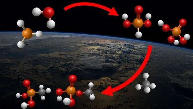 Key phosphorus-based molecule for life on Earth may have come from space