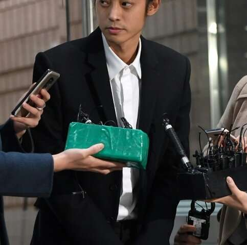 K-pop star Jung Joon-yong was arrested in March on charges of filming and distributing illicit sex videos without the consent of