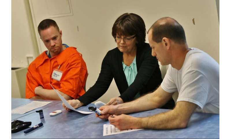 Learning diabetes skills on the inside helps ex-inmates stay out – of hospital