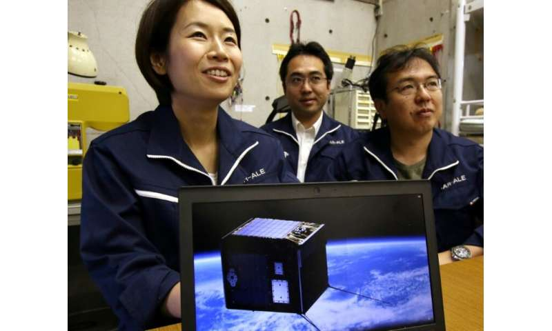 Lena Okajima, CEO of a space technology venture ALE is hoping to deliver shooting stars on demand and choreograph the cosmos